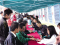 2012年5月11日广西工学院鹿山学院2012年夏季校园招聘会