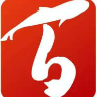 廣西百魚莊餐飲管理有限公司招聘:公司標志 logo